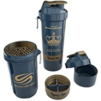 SmartShake Shaker 800ml with two screw-in compartments Special Edition Ronnie Coleman Edition by SmartShake