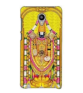 Fuson Designer Back Case Cover for Meizu M2 Note :: Meizu Note 2 (Tirupati Balaji theme)