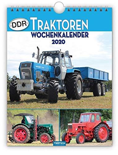 """Wochenkalender """" DDR-Traktoren"""" 2020: 19 x 25 cm"""