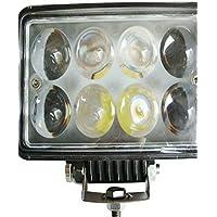 Auto LED luci di lavoro Square Riparazione evidenziare luci veicolo fuoristrada luce (Audi Strumenti Di Riparazione)
