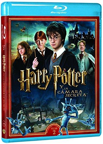 Harry Potter Y La Cámara Secreta - Nueva Carátula [Blu-ray]