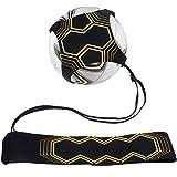 Anpro Solo Fußball Trainer Gürtel, Kick Trainer Hände Free mit verstellbarem Taillengürtel für Kinder Anfänger Kick off Trainer