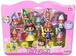 Pinypon Pack de Figuras Blancanieves