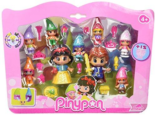 Pinypon - Pack de Figuras Blancanieves y Siete enanitos (Famosa 700012750)