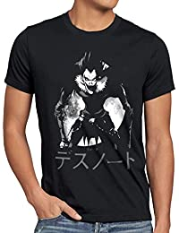 style3 Shinigami Ryuk T-Shirt Homme Death cahier de la Mort Anime Yagami Note