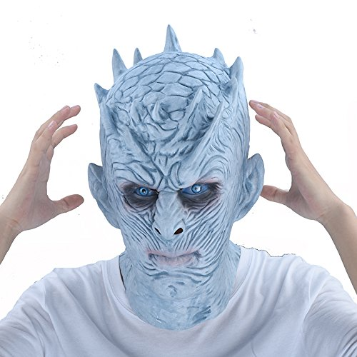 Kostüm Of Erwachsenen Queen Thrones Für - KHFFJ Halloween Maske Nacht Zombie Latex Maske Erwachsene Cosplay Throne Kostüm Party Maske