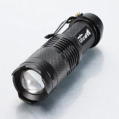 CREE Q5 3W Led 350 Lumens mini Flashlight Zoomable Taschenlampe AA von alfaltdde bei Outdoor Shop