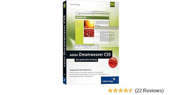 Adobe Dreamweaver CS5: Der praktische Einstieg Galileo Design ...