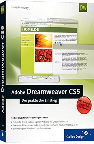 Adobe Dreamweaver CS5: Der praktische Einstieg (Galileo Design) - Partnerlink