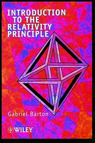 Introduction to the Relativity Principle: Particles and Plane Waves por Barton