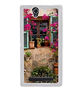 Beautiful Vintage Window 2D Hard Polycarbonate Designer Back Case Cover for Sony Xperia C4 Dual :: Sony Xperia C4 Dual E5333 E5343 E5363