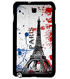 PRINTSWAG TOWER Designer Back Cover Case for SAMSUNG GALAXY NOTE 1 N7000