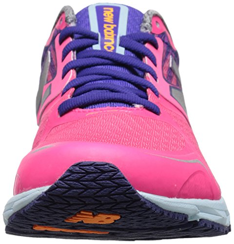New Balance Women's W1400V4 Running Shoe, Purple/Blue, 11 B US pink / lila / blau