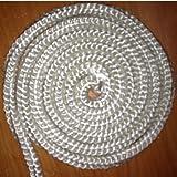 Cordón para estufas aislamiento color blanco, diferentes resistencias, 20 mm