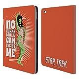 Officiel Star Trek Orion Female Personnages Iconiques TOS Étui Coque De Livre En Cuir Pour iPad Air 2 (2014)