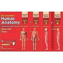 Human Anatomy By B D Chaurasia's 7th Edition (Set Of 4 Books) Vol-1,2,3&4(Paperback, BD Chaurasia's)
