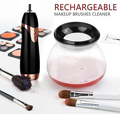 Make-Up Pinsel Reiniger Trockner, Komplett Sauber In Sekunden, Anzug Für Alle Größe Make-Up Pinsel,Black
