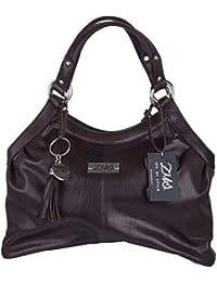 ZMS Eb007 Women's Hand Bag (Brown)