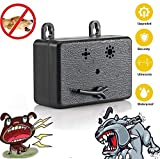 Volwco Ultrasonic Anti Barking Device, 2019 Upgraded Dog Bark Control Bark Stopper for Outdoor - 50 Feet Effective, 100% Pet & Human Safe Dog Silencer No Bark Tool For Small/Medium/Large Dogs