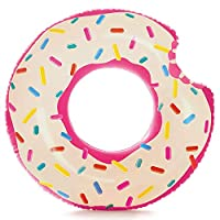 Intex Inflatable Donut Tube, Multi-Colour, 56265