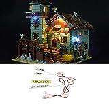 Kit D'ÉClairage Led Pour Lego Jeu De LumiÈRes IdÉEs Ancien Magasin De PÊChe 21310