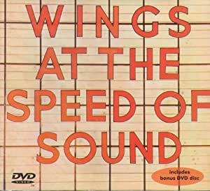 PAUL MCCARTNEY Wings at the Speed of Sound CD/DVD set in digipak