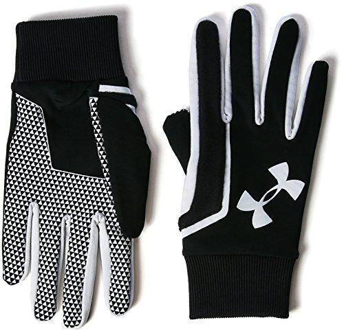 Under Armour Herren Fußball Spielerhandschuhe, Black, XL (Handschuhe Jordan)