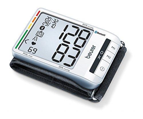 Beurer Tensiomètre au Poignet Connecté Bluetooth Blanc