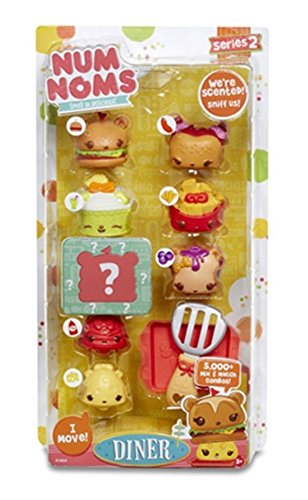 Num Noms Deluxe-Packet Diner Jumbo Combo bunt Combo Pack-tray