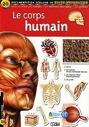 Le corps humain : Documentation scolaire en images autocollantes - Dès 7 ans ( périmé )