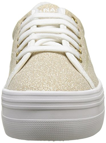 No Name Plato Sneaker, Baskets Basses Femme Or (Gold)