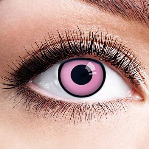 Farbige Kontaktlinsen Pink Rosa Ohne Stärke Motiv Eye -