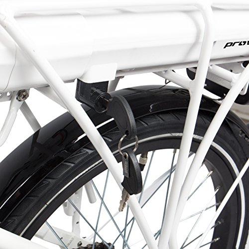 E-Bike Faltrad in weiß | Unisex | Bild 4*