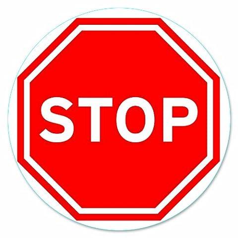 Panneaux Stop - Chapuis DS101 Disque pvc adhésif D170 mm