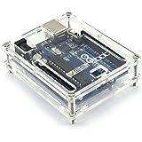 Arduino Uno Case Boîtier Transparent Boîte ordinateur