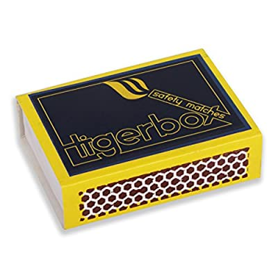 30 X Flamefast Fireglow Instant Lighting Firelogs Burn For Over 2 Hours For An Instant Log Effect Fire Tigerbox Safety Matches by Flamefast