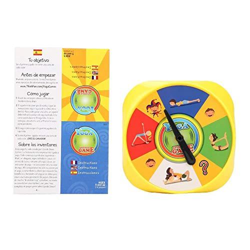 Juego de Mesa de Yoga 54 Pose de Yoga Tarjetas de Juego para Padres e Hijos Flexibilidad interactiva Ejercicio Juguete de Escritorio Educación de la Primera Infancia Aprendizaje