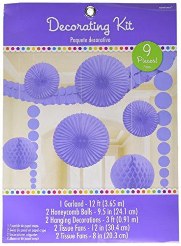 amscan Violettes Deko-Set -