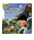 Wenn kleine Tiere müde sind: Erste Reime für die gute Nacht. Ab 12 Monaten (ministeps Bücher) - Sabine Cuno
