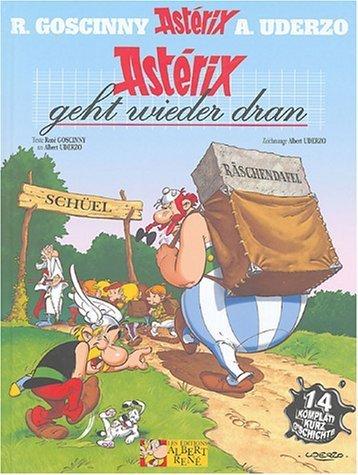 Astérix : Astérix geht wieder dran (Astérix et la rentrée gauloise) : Edition en langue alsacienne de René Goscinny (10 novembre 2004) Album