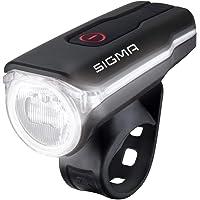 SIGMA SPORT Fahrradbeleuchtung AURA 60 USB, 60 LUX, Frontlicht, StVZO zugelassen, wasserdicht, USB wiederaufladbar, 3…