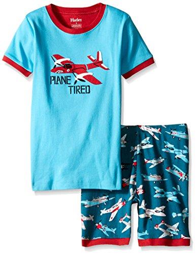 Hatley Boy's Fighter Planes Shorts Pyjama Set