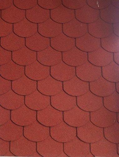 Dachschindeln 3m²(EURO 10,83/m²) Bitumenschindeln Ziegel Gartenlaube