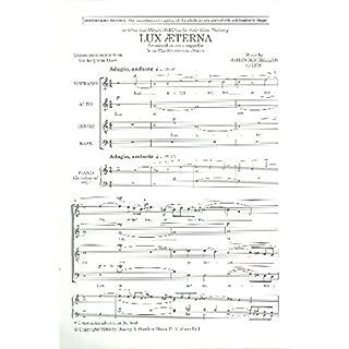 James MacMillan: Lux Aeterna (The Strathclyde Motets). Für SATB (Gemischter Chor), Chor