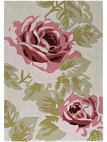 benuta Harlequin Rose Modern Rug Rose 120x180 cm (3ft11