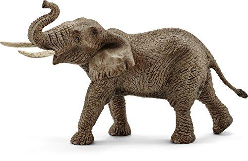 Schleich 14762 - Spielzeugfigur, Afrikanischer Elefantenbulle