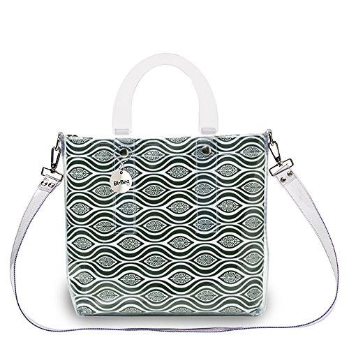 BI-BAG borsa donna modello DAILY VINTAGE + pochette Verde