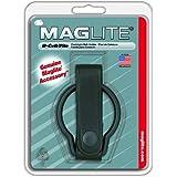 Mag-Lite ASXD036 Ledergürtelring für D-Cell Taschenlampe mit paktische Lederschlaufe und Druckknopf