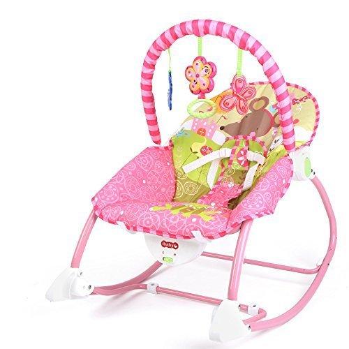 Best For Kids L8437 2in1 Schaukelsitz Deluxe mit Musikfunktion (Pink)