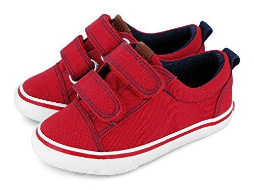 Gioseppo Chaussures Alveo Toile pour les tout-petits en bleu ou rouge (style 25403) red